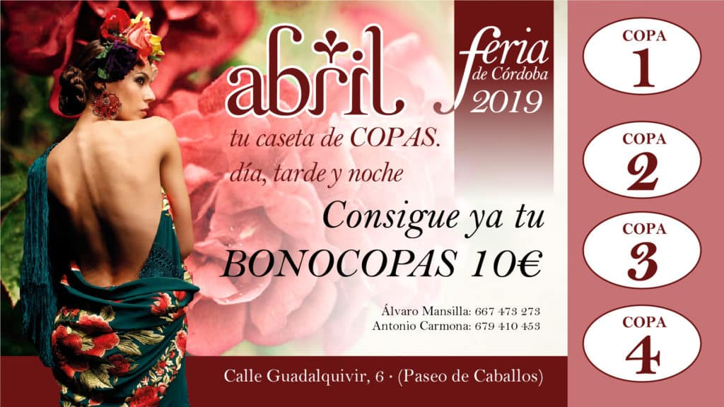 Feria De Córdoba Caseta Abril 2019 - Bonocopas