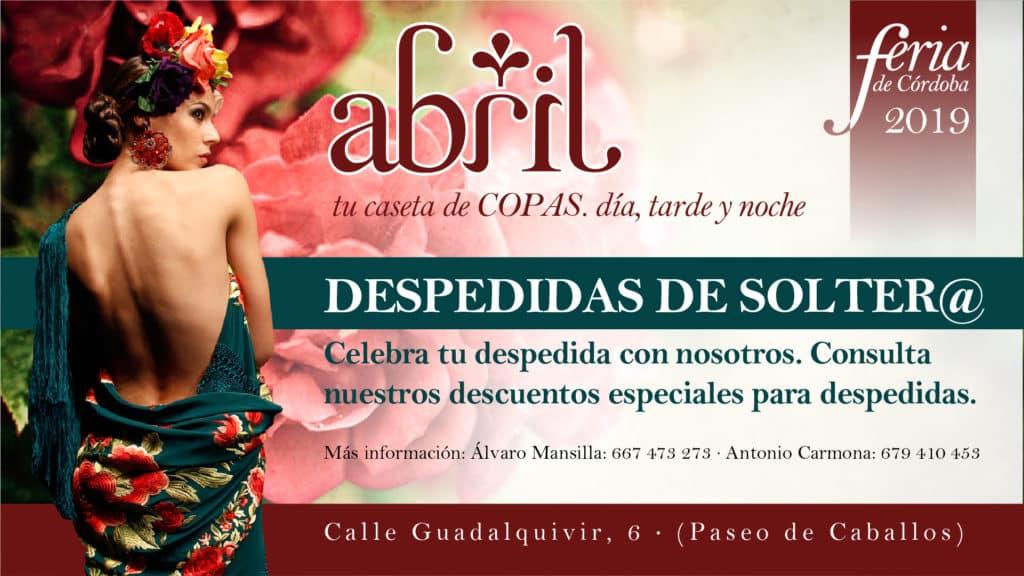 Feria De Córdoba Caseta Abril 2019 - Despedidas