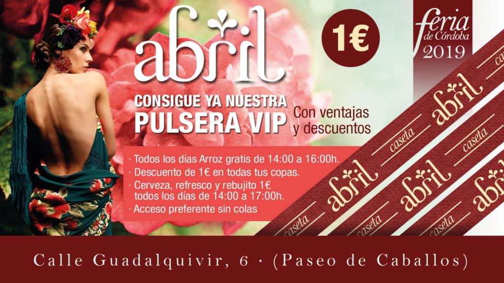 Feria De Córdoba Caseta Abril 2019 - PULSERAS