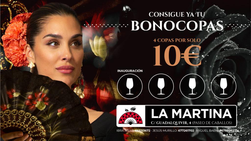 Feria De Córdoba Caseta LA MARTINA 2019 - Bonocopas