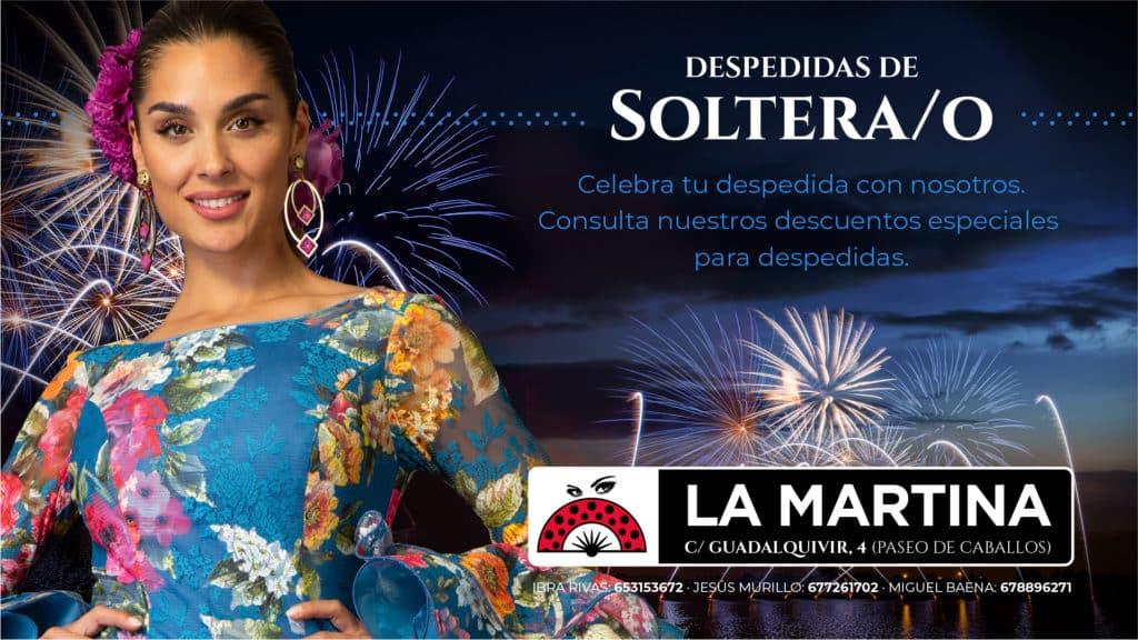 Feria De Córdoba Caseta LA MARTINA 2019 - DESPEDIDAS