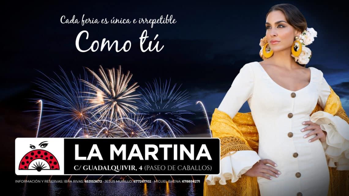 Feria De Córdoba Caseta LA MARTINA 2019 - Slogan