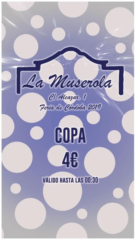 Caseta La Muserola Copa 4€