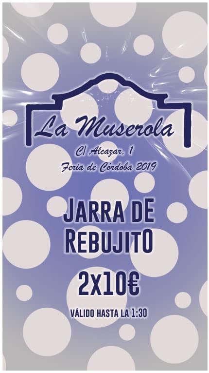 Caseta La Muserola Rebujito 2x10